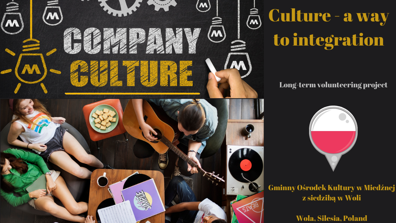 Culture - a way to integration