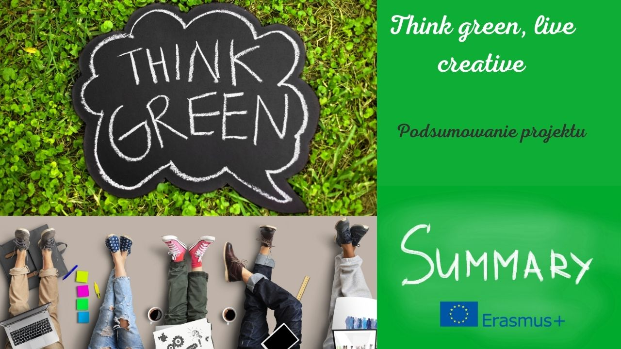 Think green, live creative